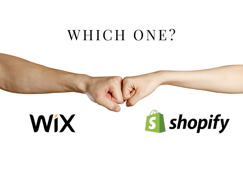 shopify vs wix: which one?