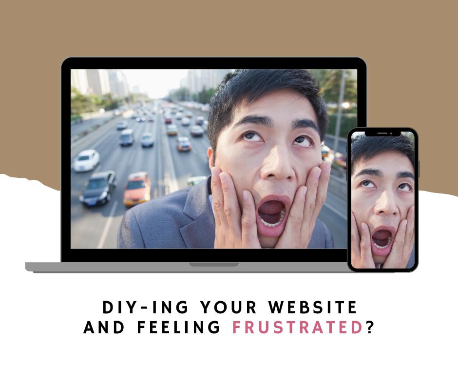 DIY Websites Frustrated